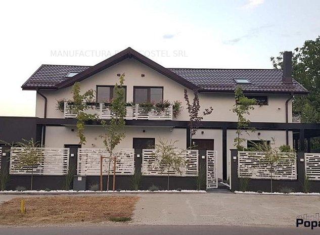 Moara Vlasiei vila la sosea P+1Et 6 camere 4 bai renovata 2020 - imaginea 1