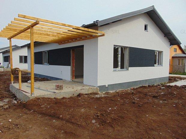 FARA COMISIOANE casa PARTER 3 camere 2 bai placa beton pod terasa LA CHEIE - imaginea 1