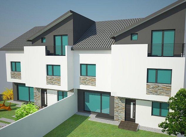 FARA COMISIOANE casa cu 3-4-5 camere 3 bai P+1+Mansarda finisata LA CHEIE - imaginea 1