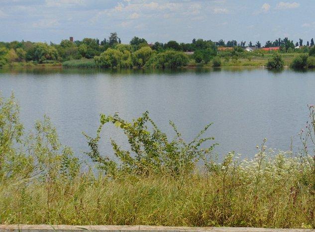 FARA COMISIOANE teren constructii 500-600mp pe malu lacului Buftea in Samurcasi - imaginea 1