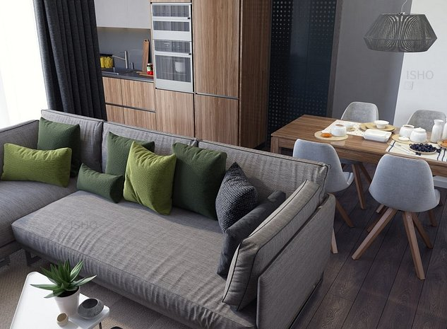 Apartament spatios, compartimentare practica, ISHO Parkside - imaginea 1