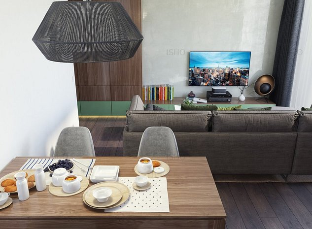 Apartament spatios, ISHO Parkside - Terasa cu vedere spre rasarit - imaginea 1