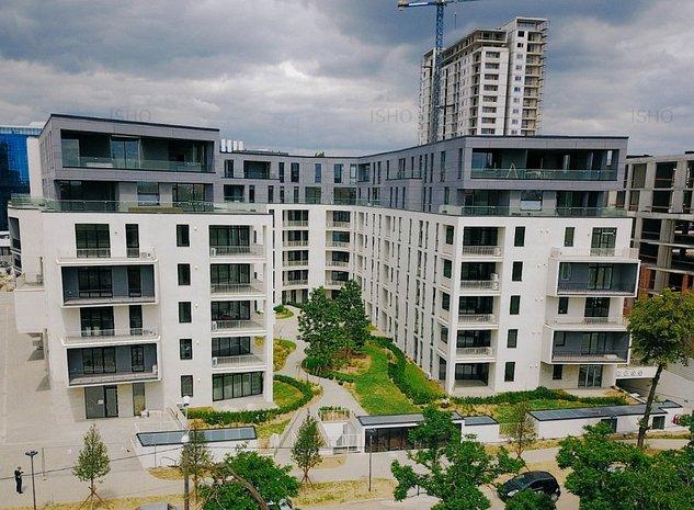 ISHO Riverside U1, Penthouse cu terasa generoasa spre Bega - imaginea 1