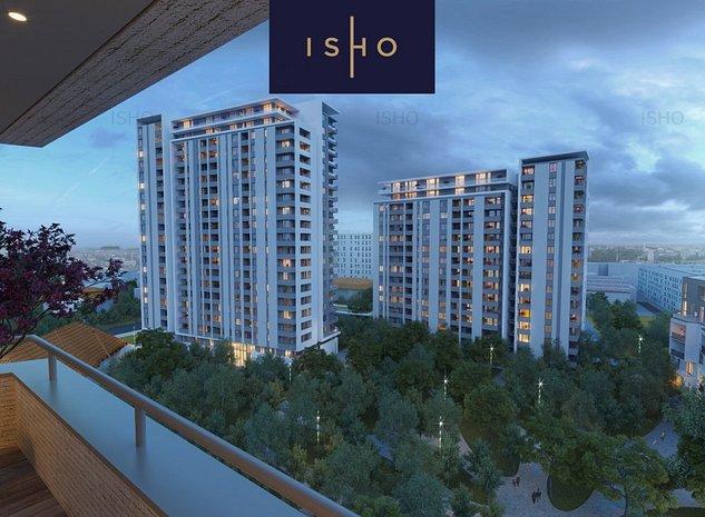 ISHO Parkside D - Penthouse exclusivist cu vedere panoramica - imaginea 1
