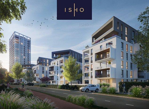 ISHO Riverside U2 - Apartament la parter cu gradina  - imaginea 1