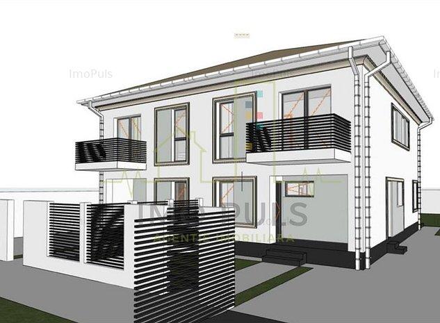 1/2 Duplex Mosnita Noua (la intrare), POZITIE EXCELENTA, Finisaje la Alegere - imaginea 1