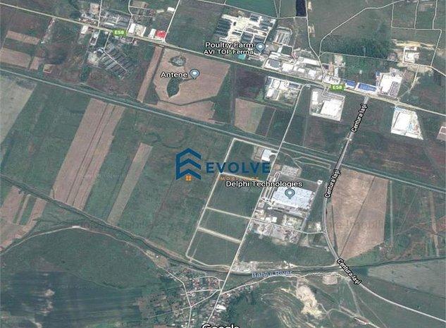 Teren 19.7 ha Parcului Tehnologic Miroslava - imaginea 1