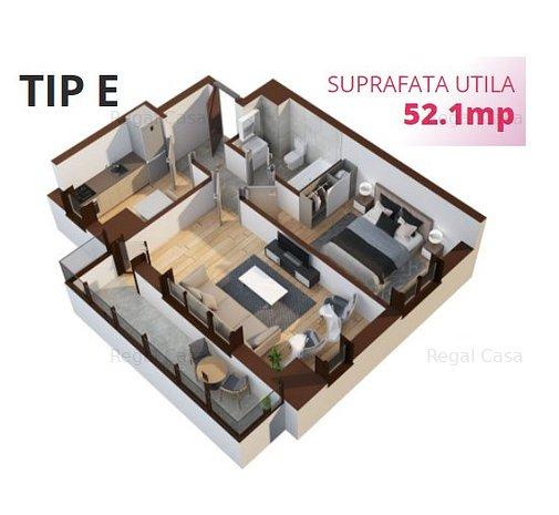 Apartament cu 2 camere Tatarasi bloc nou - imaginea 1