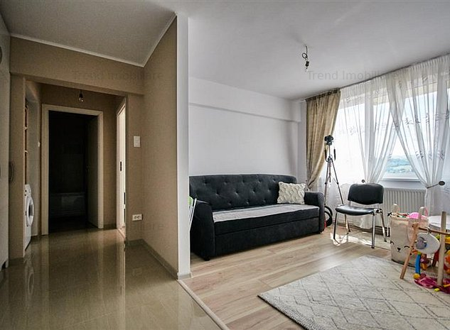 Apartament 2 camere Grigorescu DECOMANDAT, 50 mp. + balcon 4 mp. - imaginea 1