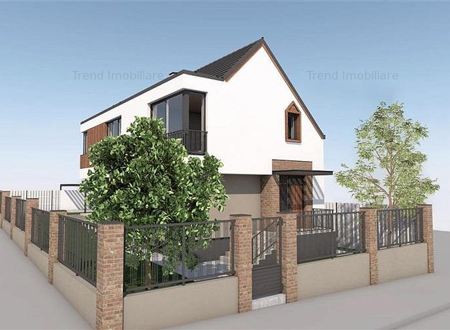 Casa Andrei Muresanu 180 mp utili si 360 mp teren - imaginea 1