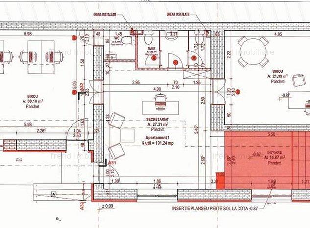 Spatiu de birouri - NOU - Dorobantilor - imaginea 1