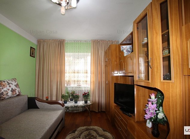 Apartament 2 camere decomandat Parter, zona Frumoasa - imaginea 1
