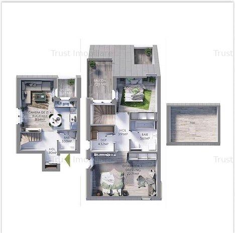 COMISION 0 Apartament 3 camere, Maurer Vilas - imaginea 1
