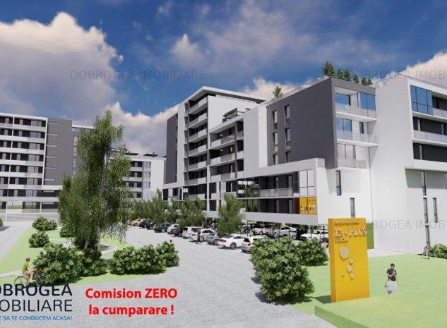Complex E3 PLUS, Garsoniera et 2, bucatarie separata, totul nou, centrala, lift - imaginea 1