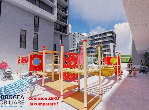 E3 PLUS, 3 camere, vedere panoramica, terasa, spatii verzi, loc de joaca - imaginea 1
