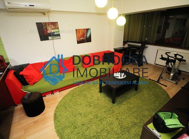 Mircea Voda, Etaj 2, 3 camere, decomandat, mobilat modern, centrala - imaginea 1