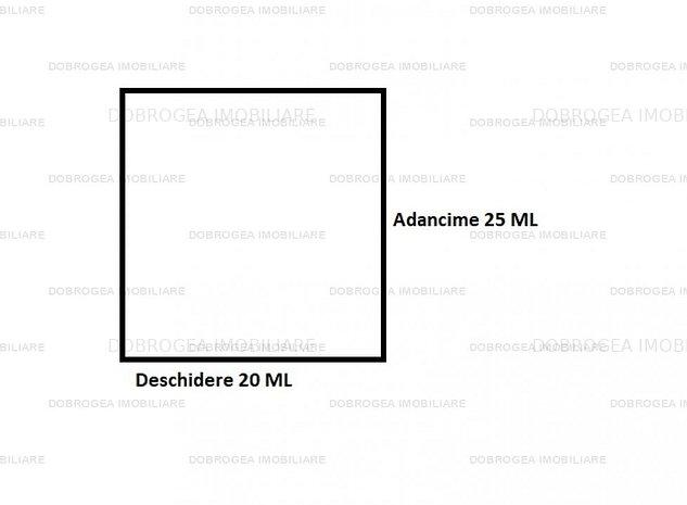 Teren intravilan, 500 MP, Deschidere 20 ML, zona PECO - imaginea 1