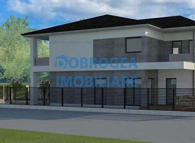 Baltag, teren 362 mp+proiect casa P+1, fundatie cota 0 - imaginea 1