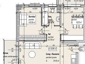 Apartament de vânzare 3 camere, în Baciu