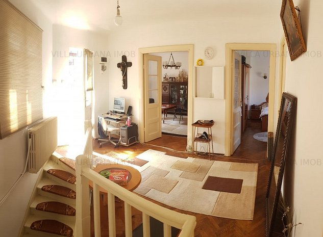 Zona Pta Alba Iulia- Decebal- adiacent- apartament in vila - imaginea 1