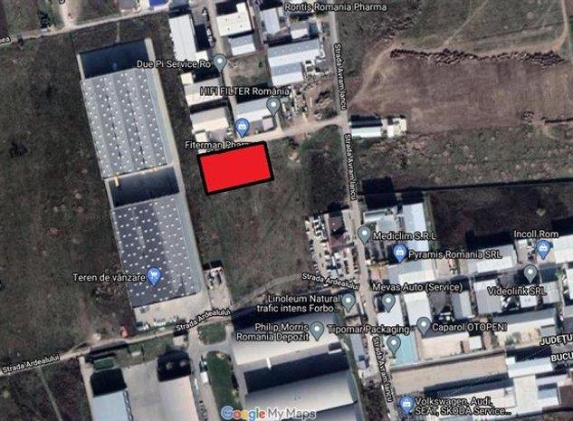 Vanzare teren Otopeni - Centura, ILFOV - imaginea 1