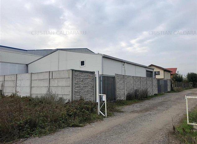 Vanzare depozit/hala Domnesti - Bragadiru - Olteni, Ilfov - imaginea 1