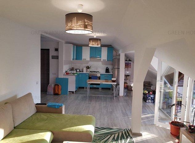 Apartament 3 camere,2 bai,mansarda bloc nou - imaginea 1