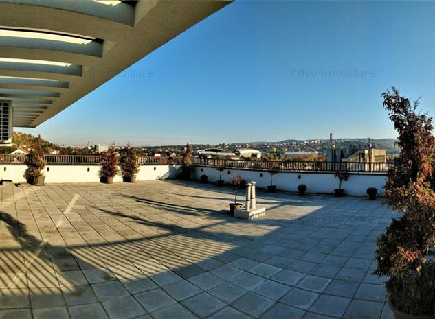 Penthouse, 160 mp, terase 200 mp, panorama, 2 parcari, zona Mega Image - imaginea 1