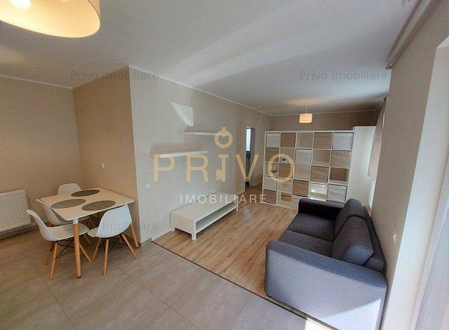 Apartament superb cu 1 camera, curte 45 mp, parcare, Iulius Mall. - imaginea 1
