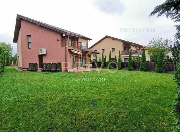 Casa 180 mpcurte 500 mp 5 camere garaj zona str E.Ionesco - imaginea 1