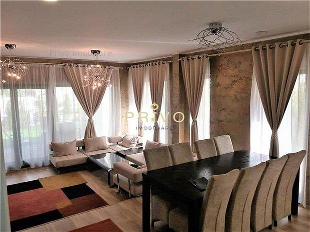 Casa, 130 mp, curte 280 mp, 4 camere, terasa pe acoperis - imaginea 1