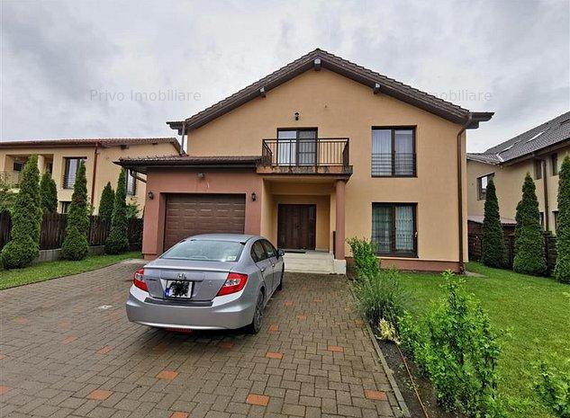 Casa 180 mp,curte 500 mp, 5 camere, garaj, zona str E.Ionesco - imaginea 1