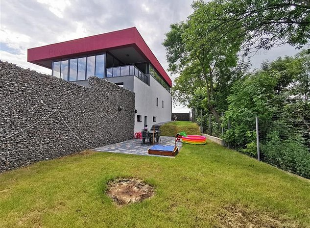 Casa de Lux cu panorama, 5 camere, 180 mp, curte 300 mp zona Feleacu - imaginea 1