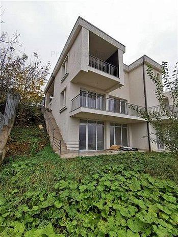 Duplex cu panorama pe o strada privata in Gruia. 0% comision - imaginea 1