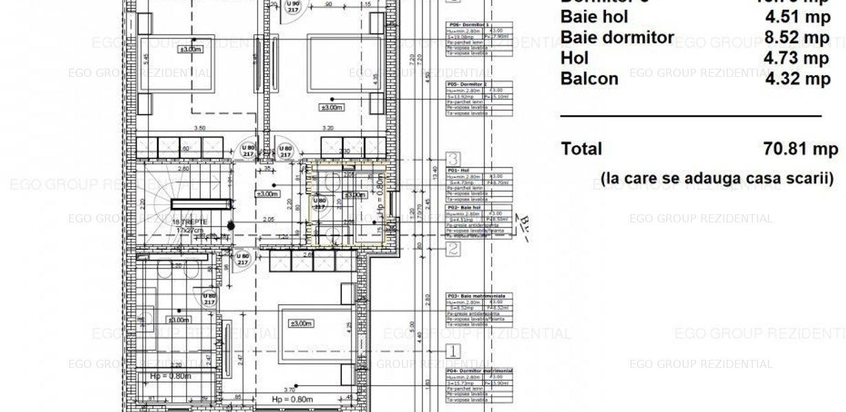 Duplex Ultra Lux-Zona Linistita- Doar  5 Minute Distanta Metrou -Mutare imediata - imaginea 13