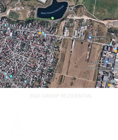 Teren intravilan oras Popesti Leordeni str Baraganului - imaginea 1