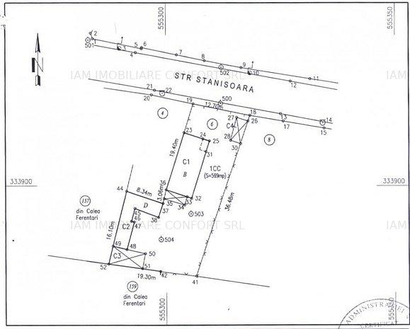 Vânzare teren 569 mp Calea Ferentari - imaginea 1