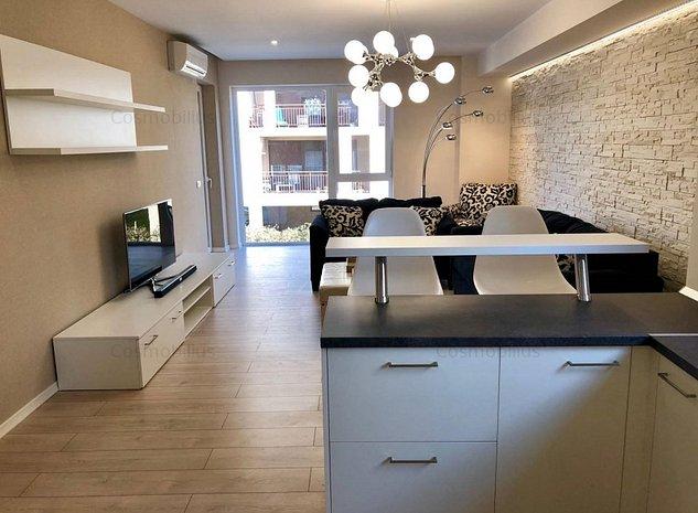 Lux apartament cu 2 camere in bloc nou zona Soarelui - imaginea 1