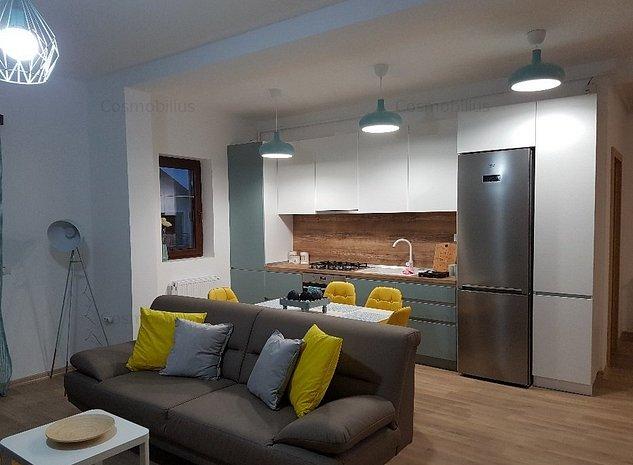 Lux Apartament cu 3 camere in bloc nou  - imaginea 1