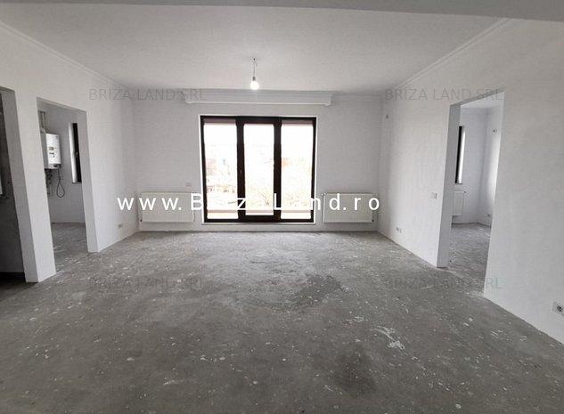 Bucurestii Noi, Doi Cocosi, ap. 4 camere, bloc 2019, etaj 1/3, s. utila 92.2mp - imaginea 1