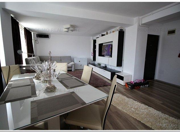 Tomis Nord Ciresica Apartament 2 camere bloc nou mobilat utilat lux - imaginea 1