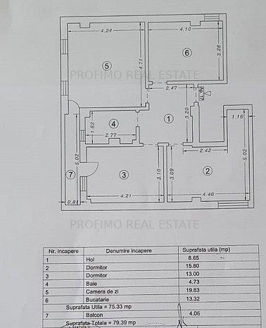 Kamsas Baba Novac Apartament 3 camere LA CHEIE  bloc 2020  - imaginea 1