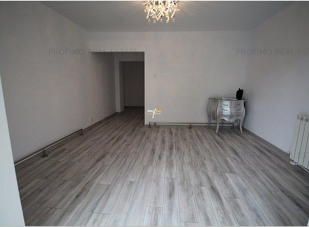 Inel II apartament 2 camere cf 0 decomandat 70 mp parter centrala proprie - imaginea 1