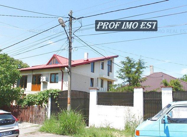 Eforie Sud, Casa P+1E la rosu, 100m de Malul Marii - imaginea 1