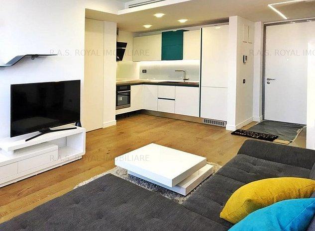 De inchiriat apartament 2 camere zona Herastrau - Cortina Residence - imaginea 1