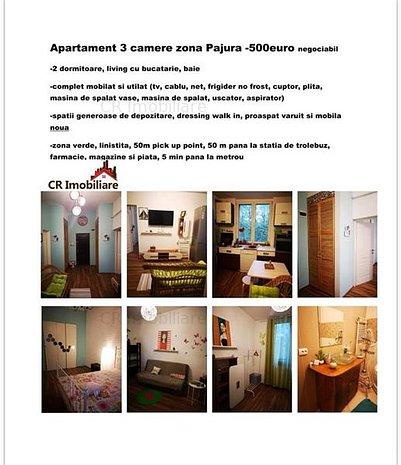 Inchiriere apartament 3 camere Pajura - imaginea 1