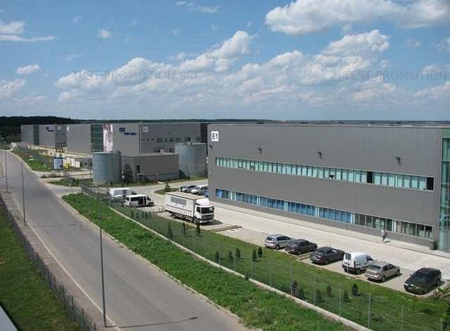 Depozitare logistica hala industriala arhiva farmaceutic anvelope autorizat PSI - imaginea 1