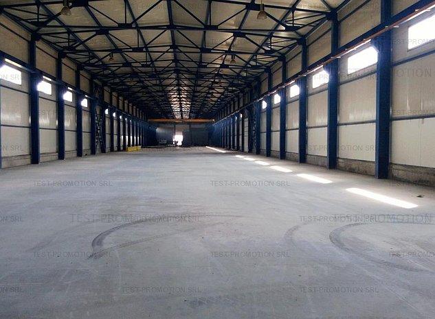 Depozit hala industriala productie confectii metalice - imaginea 1