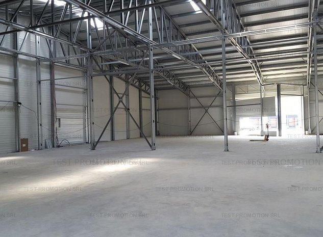 Depozit hala productie spatiu logistic Stefanestii de Jos nou - imaginea 1