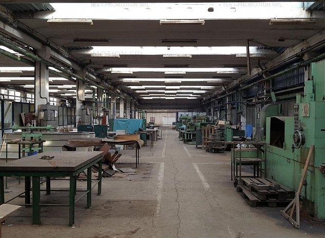 Spatiu depozitare logistica productie hala industriala sud acces metrou - imaginea 1